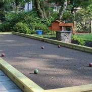 Calm, not rowdy Bocce Ball